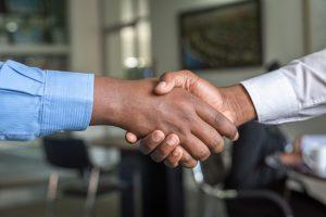 handshake agreement business partner